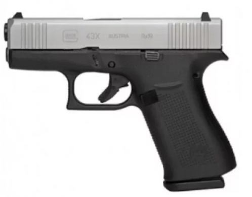 Glock PX435SL201 G43X Subcompact 9mm Luger Double
