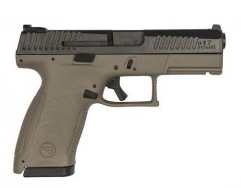 CZ P10 Compact 9mm 15 1 FDE Frame