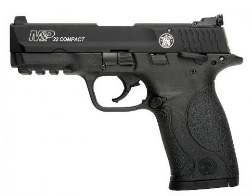 S&W M&P22 22LR COMP 3.6 10R Black